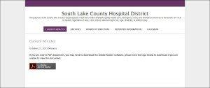 southlakecountyhospitaldistrict.org