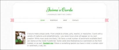 Jaime's Cards